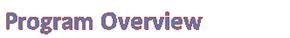 ProgramOverview