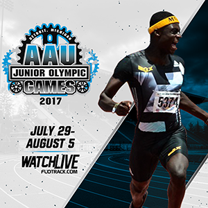 AAU Junior Olympic Games Sports Track Field MultiEvents - Us track and field map my run
