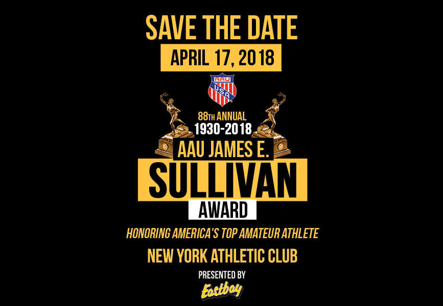 87th AAU Sullivan Award