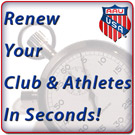 Renew Your Club & Athletes In Seconds!